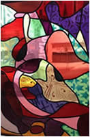 Beautiful Custom Stained Glass Window