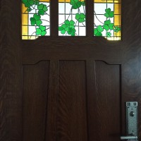 Shamrocks    Front Door  Private Residence  North Park  San Diego  CA