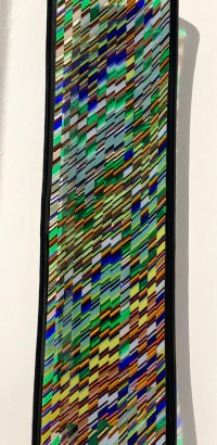 Tapestry Plate   Fused Glass